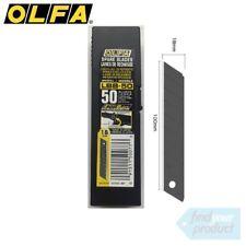 2x OLFA LBB-50 ULTRA SHARP BLACK 50PK 18MM BLADES - (HOBBY/UTILITY KNIFE)