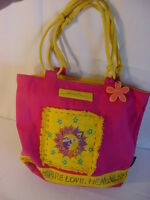 Laurel Burch Sun N Sand Beach Bag 14 x 6 1/2 x 13
