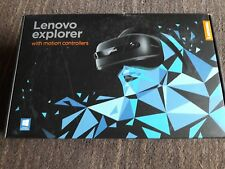 Lenovo Explorer Mixed Reality Headset and 2 Controllers BNIB sealed