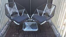 Elegantes, mordenes Designer Gartenmöbel Set - auch Indoor geeignet