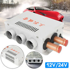 12V Car Truck Fan Heater Defroster Demister Heating Warmer Windscreen 3 Holes