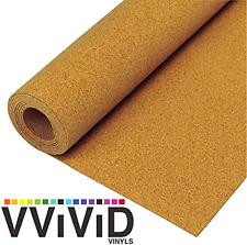 Natural Cork Board Textured Vinyl Wrap Underlayer Contact Shelf Paper Adhesive