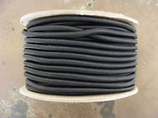"""100ft 3/16"""" BLACK Bungee/ Shock Cord  MADE IN THE USA"""
