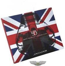 Jaguar Neuf D'Origine E-TYPE 50 Année Anniversaire Livre 50 jspaetb