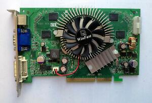 Leadtek WinFast GeForce 7600GS TDH 256MB AGP 8X VGA Card - Test OK!