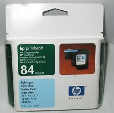 OEM HP #84 Lt cyan PRINTHEAD DESIGNJET 10ps,20ps,50ps C5020A FACTORY SEALED
