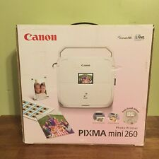 """Canon Pixma Mini 260 Photo Printer """"Quick, Portable, Easy"""" Open Box Special"""