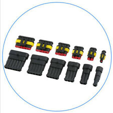1 Set 1 2 3 4 5 6 Pin Way Waterproof Super Sealed Electrical Wire Connector Plug
