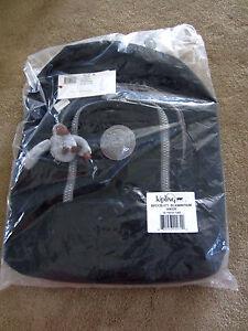 Kipling Extra Large 16.75 HIKER Expandable Backpack BP2128 001 Black New/Tag