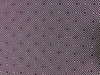 Baumwollstoff, Webware, 0,5 m, square, purple, 150 cm breit, Design by POPPY
