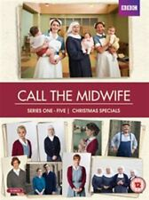 Call the Midwife Season 1 + 2 + 3 + 4 + 5 Series + Xmas Specials New DVD