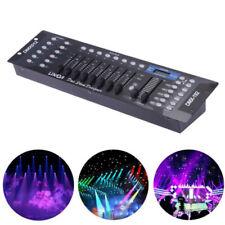 Lixada 192 Kanäle DMX 512 Controller Konsole Bühnenlicht Party DJ Equipment DE
