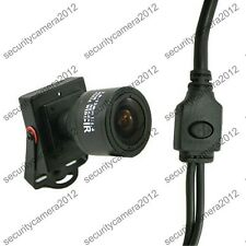 Mini 2.8-12mm Manual ZOOM Lens CMOS 1000TVL OSD Square Security HD CCTV Camera