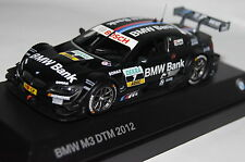 BMW m3 DTM 2012 #7 SPENGLER Team Schnitzer BMW 1:43/Minichamps NUOVO & OVP