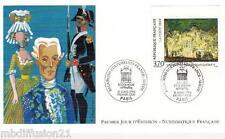 1994**FDC 1°JOUR!**FETE AU TRIANON DE NICLAS LAFRENSEN LE JEUNE**TIMBRE Y/T 2870