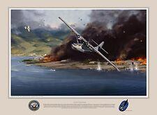 """Lone Survivor"" Jack Fellows PBY Catalina Giclee Print"