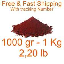 Iron Oxide Red Pigment Dye 1000 Gr 1 Kg 220 Lb Free Amp Fast Shipping Fe2o3 Dyes