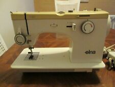 ELNA  Electronic TSP Sewing Machine w/foot pedal