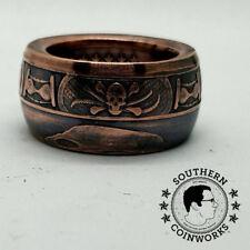 Memento Mori 1 oz .999 Copper Coin Ring