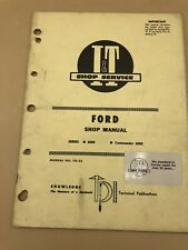 1977 FORD 6000 TRACTOR  I&T SERVICE SHOP MANUAL FO-22 Book 77 Repair