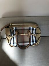 b9c6747b160f Genuine Burberry Bag - leather details - used - in great condition