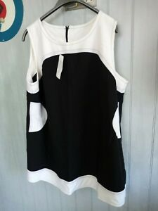 Mod 60's Mary quant style shift dress size 26