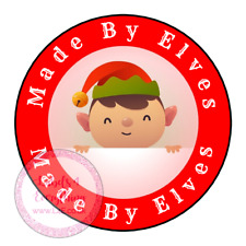 Made By Elves Stickers Labels Present Tags Gift Children Christmas Wrapping
