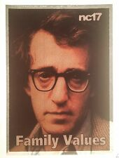 WOODY ALLEN New York Brooklyn Lewd funny NYC hipster 90's tv Vtg t-shirt iron-on