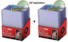 Pokémon Yu-Gi-Oh Magic 50 protections Carte Rigide Ultra PRO REGULAR Toploader