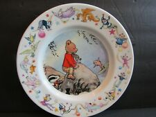 WEDGWOOD~Rupert Bear~PLATE~1988 Express Newspapers~Scene from 1969~DINNER PLATE