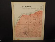 Wisconsin, Dane County Map, 1899 O2#15 Mazomanie Township