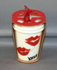 2015 starbucks christmas lips xoxo cup NWT ornament