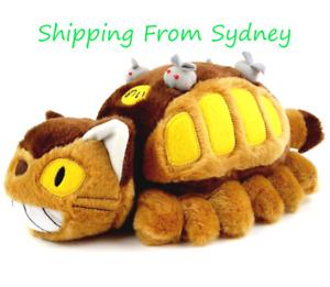 My Neighbor Totoro Neko bus Cat bus Stuffed Plush Doll  Kawaii Xmas Gift 30cm
