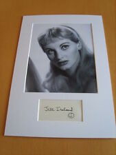 Jill Ireland Genuine signed authentic autograph
