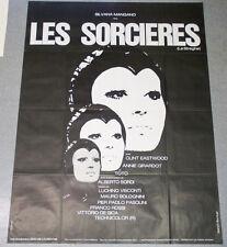 Affiche de cinéma : LES SORCIERES de PASOLINI - EASTWOOD - VISCONTI