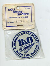DOLL HOUSE SHOPPE #5234  B & O LINKING 13 GREAT STATES WITH THE NATION