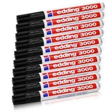 edding 3000, Permanentmarker, nachfüllbar, 1,5-3 mm, schwarz, 10er-Sparpack