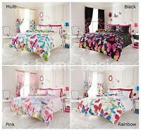 Luxury Duvet Cover Butterfly Quilt Bedding Set Pillow Cases Single Double S King