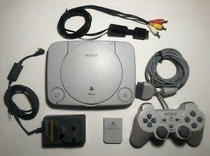 PlayStation 1 Slim Console SCPH-102 Bundle - 1 Controller