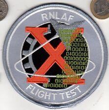 Royal Netherlands Navy Air Force RNLAF Flight Test Patch Dutch Jet Pilot xwzf