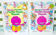 Barney's Favorite Mother Goose Rhymes: Volumes 1 & 2! HB Books by Stephen White!