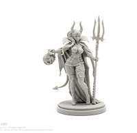 Devil Satan Figure Resin Kingdom Death Tabletop Game