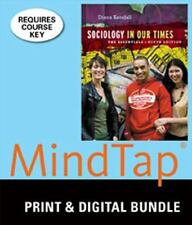 Bundle: Sociology In Our Times: The Essentials, 9th + MindTap Sociology, 1 term