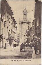 BRESCIA - CORSO GARIBALDI 1914