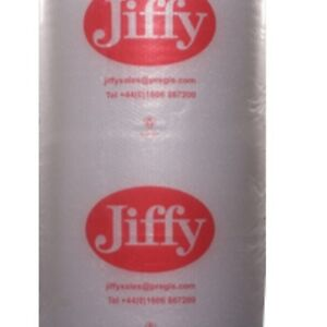 2 ROLLS JIFFY BUBBLE WRAP SMALL BUBBLES 500 MM x 100 M + FREE 24 h DELIVERY
