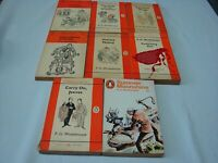 (Wodehouse) Lotto Wodehouse Inglese titoli nelle note 1963 Penguin 8 vol