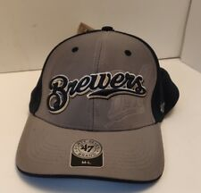 Brewer's Fitted Cap - Blue and Gray - M-L - New with tags