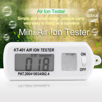 High Quality Car Air Ion Tester Meter Counter for Negative Air Ion Generator