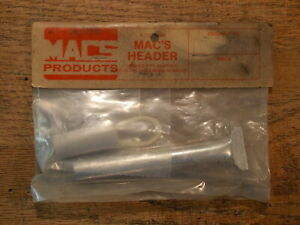 Mac's Products MACS Tuned Pipe Header Adapter For Irvine .20 Nitro Engine (#2)