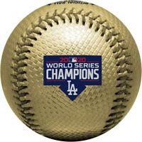 2020 World Series Los Angeles Dodgers Champions Gold Souvenir Replica Baseball